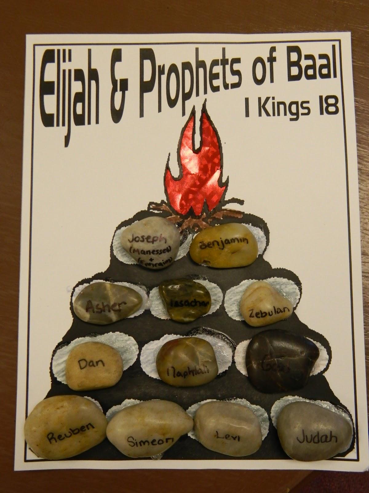 Hands On Bible Teacher Elijah Challenges The Prophets Of