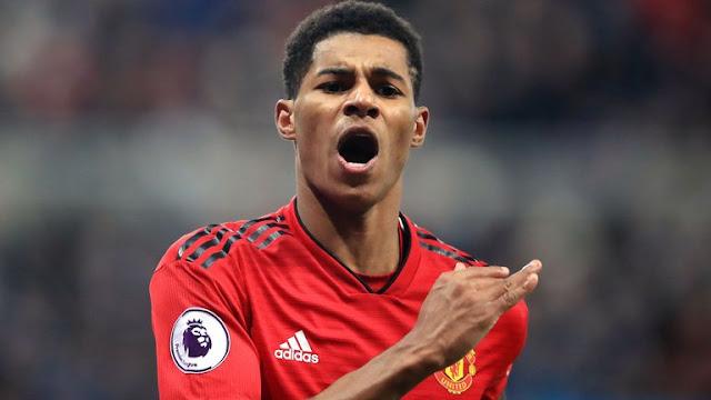 Marcus Rashford Manchester United Vs BRIGHTON & Hove Albion