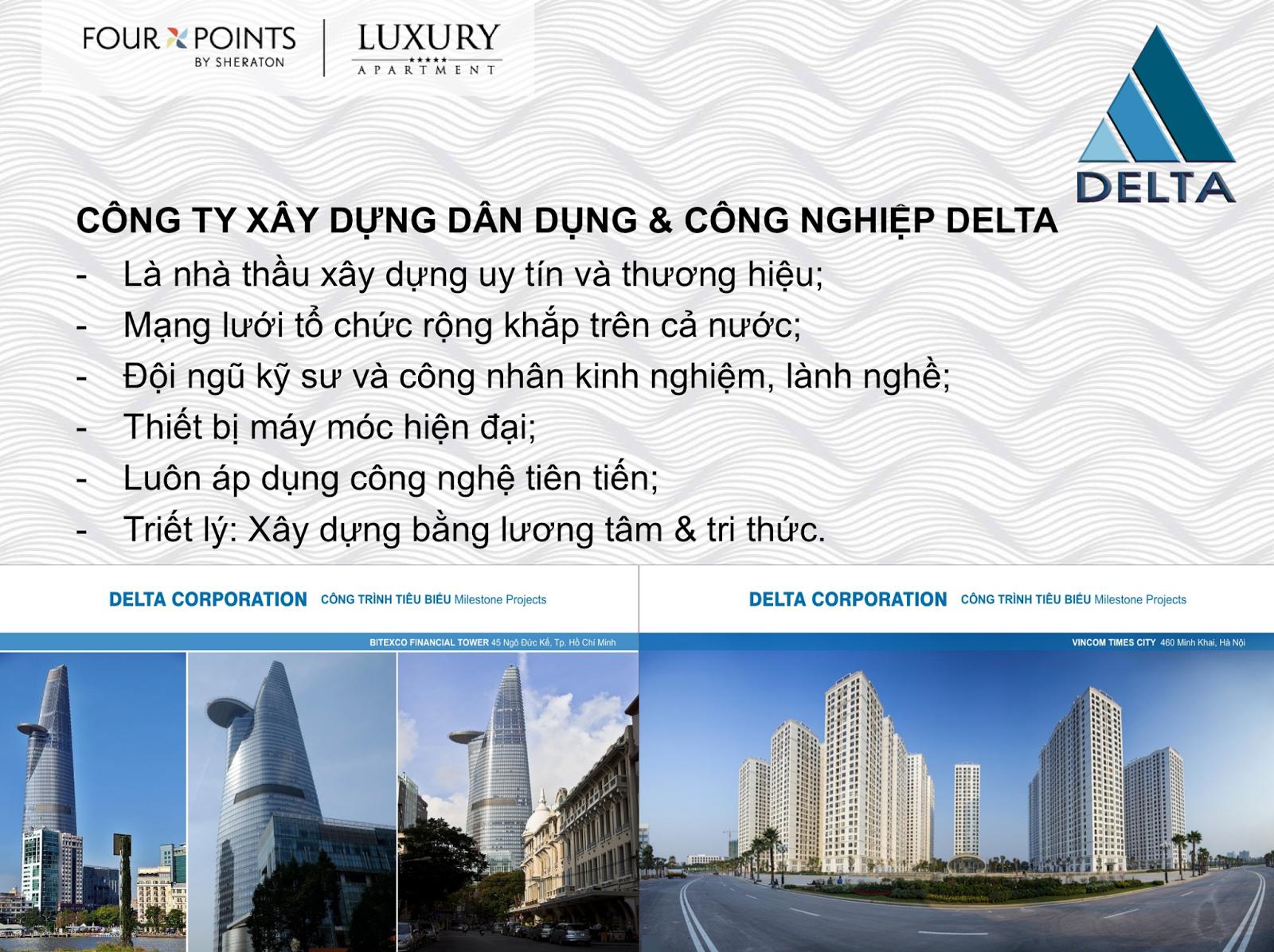 Đơn vị thi công Luxury Aparment