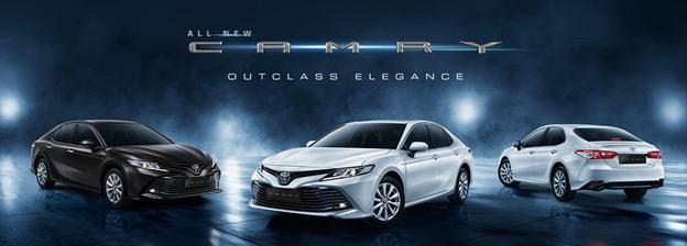 Mobil Mewah dan Terjangkau Toyota All New Camry Jawabannya!