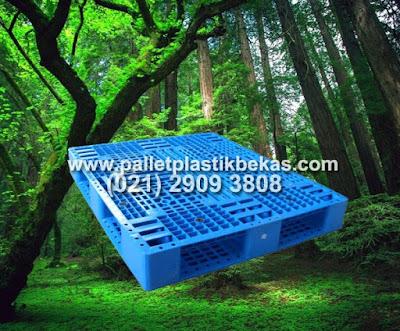 Pallet Plastik dan Kelestarian Hutan