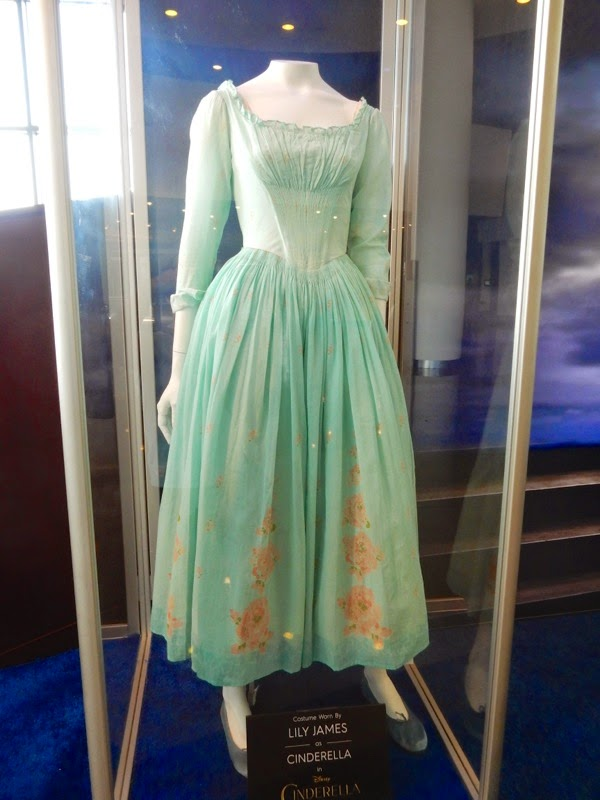 Lily James Cinderella movie costume