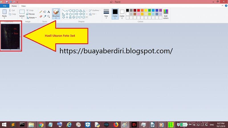 Cara Mengubah Ukuran Foto Menjadi 3x4 Online Berbagai Ukuran