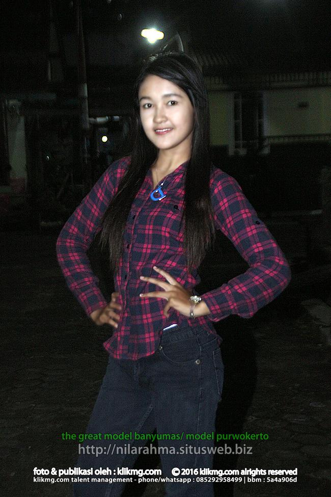 Nila Rahma Wati Gadis Model Banyumas | Klikmg Fotografer Banyumas