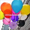 Balon Latex Metalik 8 Inchi Kualitas Super