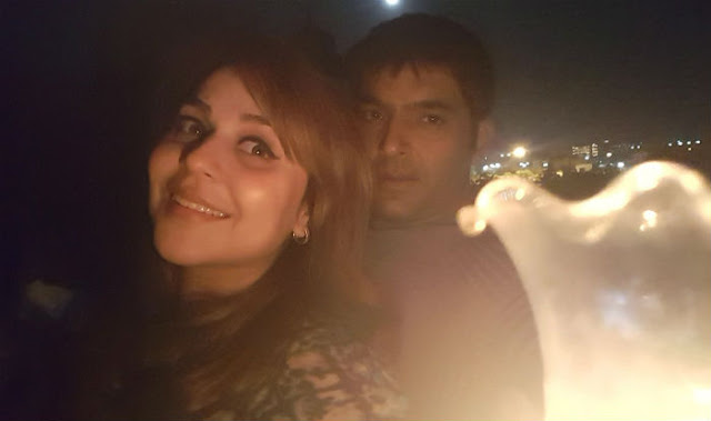 Kapil Sharma with Ginni AKA Bhavneet Chatrath!
