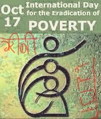 अंतरराष्ट्रीय गरीबी उन्मूलन दिवस
