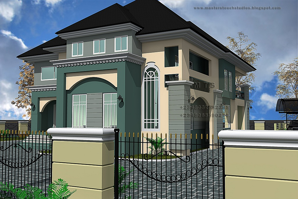 5 Bedroom Duplex Nigerianhouseplans Of 5 Bedroom Duplex Designs In