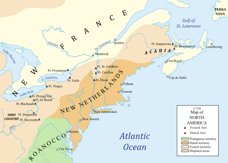 North America Map 1750.Alternate History Weekly Update Map Monday Map Of North America