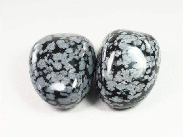 スノーフレークオブシディアン Snowflake obsidian