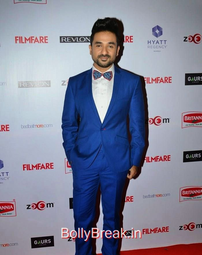 Vir Das, 60th Britannia Filmfare Awards pre-awards Party 2015 Red Carpet Pics