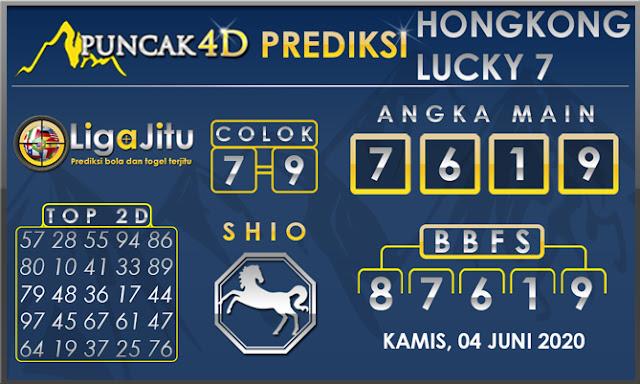 PREDIKSI TOGEL HONGKONG LUCKY 7 PUNCAK4D 04 JUNI 2020