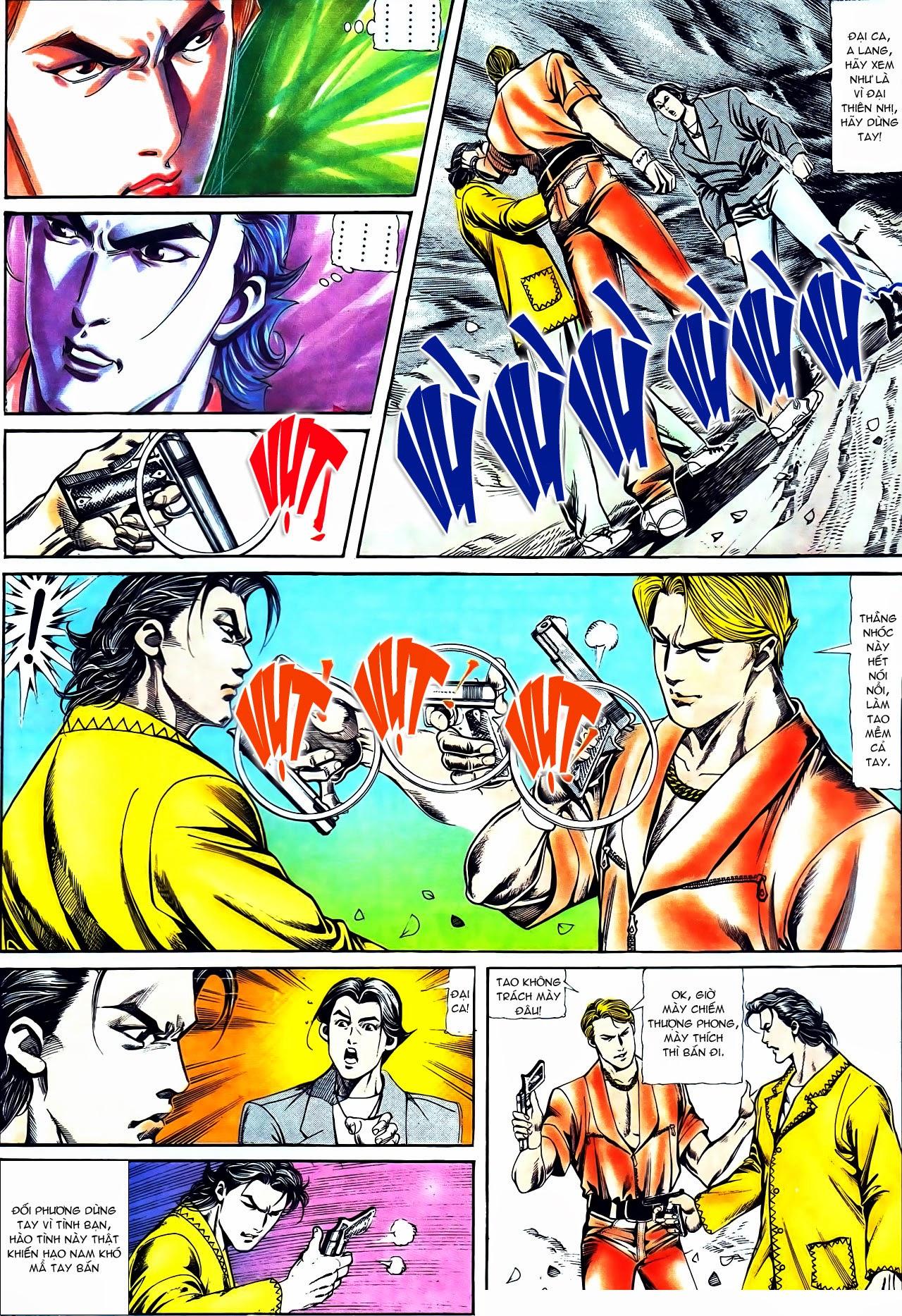 Người Trong Giang Hồ chapter 116: bình minh ló dạng ái tình tan vỡ trang 10