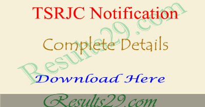 TSRJC Eligibility criteria 2019, Qualification, Age limit