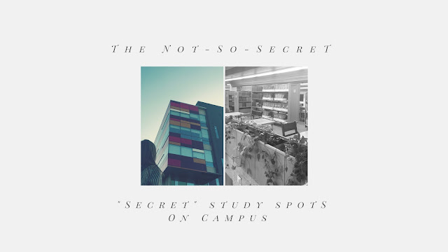 "The Not-So-Secret ""Secret"" Study Spots on Campus"