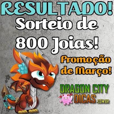 Resultado do Super Sorteio de 800 Joias - Fevereiro 2016