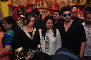 Bollywood Actress Sana Khan Launches Aakrithi Exibition  0312.JPG