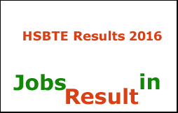 HSBTE Results 2016