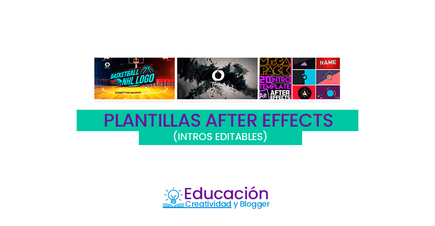 plantillas de intros editables de after effects gratis