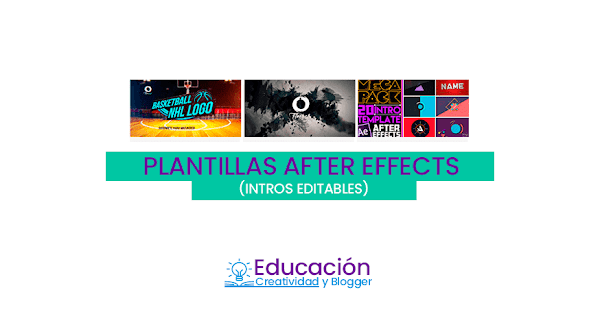 Plantillas ▷ Intros editables profesionales para After Effects 【GRATIS】