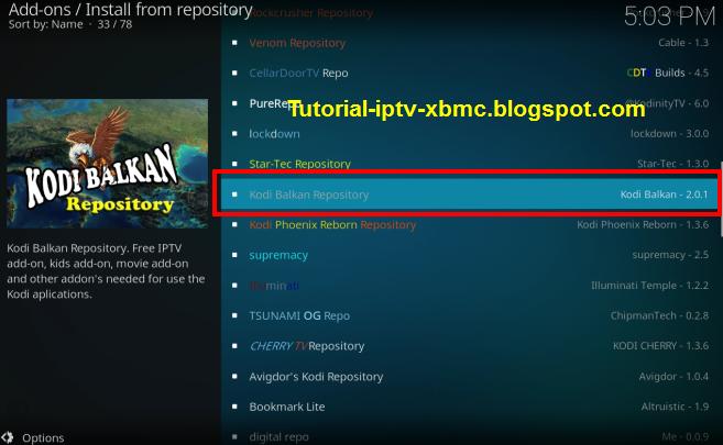 Denis List Iptv Addon Kodi Repo url - New Kodi Addons Builds
