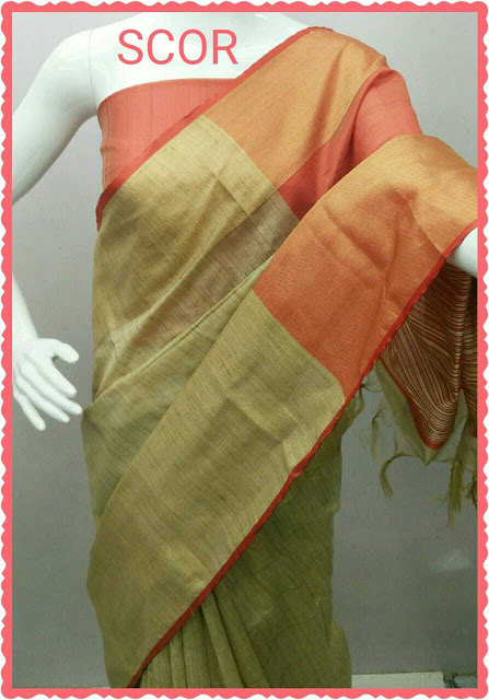 Cotton Saree With Blouse Piece