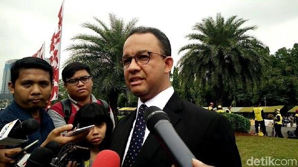 Relawan Deklarasikan Capres, Anies: Nggak Ikut, Saya Urus Jakarta