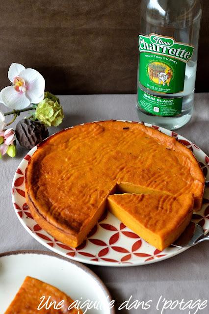 Le gâteau patate, une spécialité réunionnaise