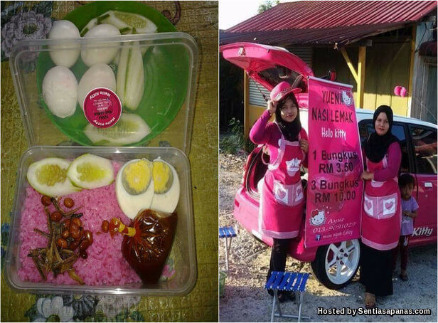 Nasi Lemak Hello Kitty