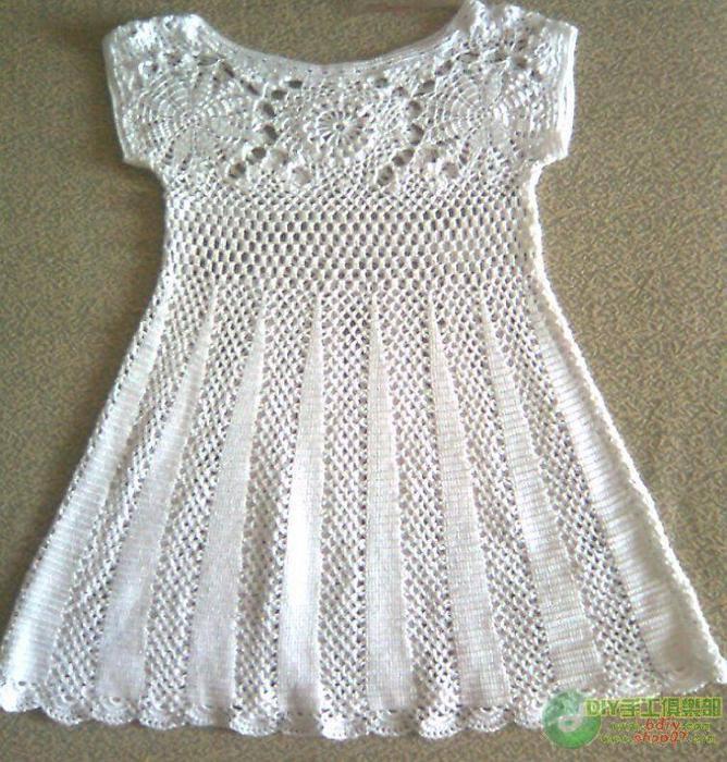 Especial: vestido crochet paso a paso | . . . . . . . . . . . . El ...