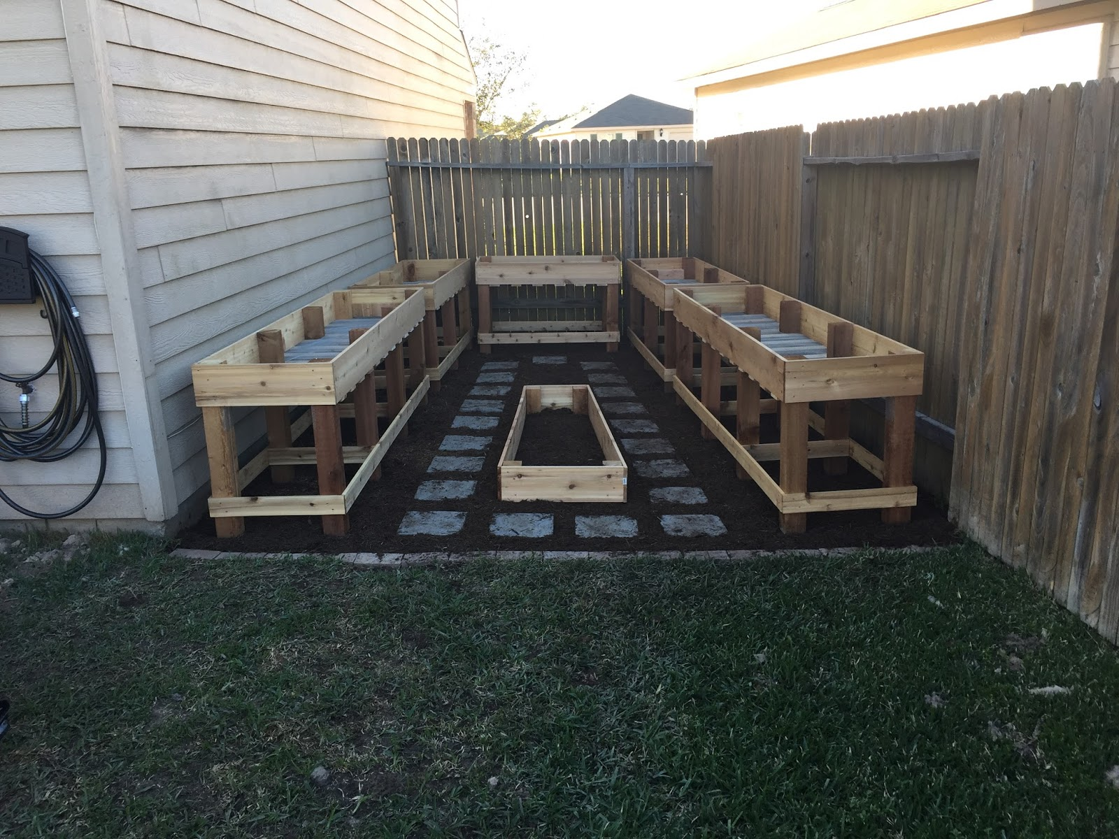 Making a change today will forever change tomorrow diy for Diy patio bed