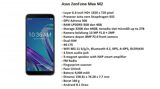 Zenfone Max M2 : Smartphone Gaming Murah Anti Ngedrob