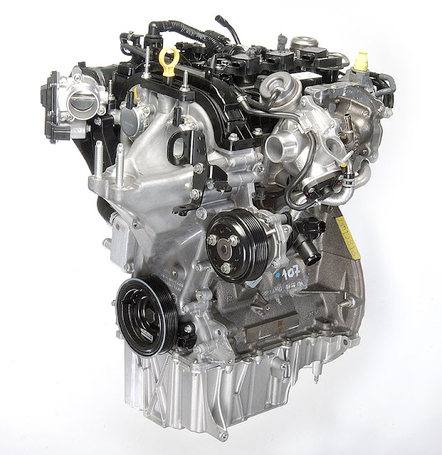 Ford 1.0 liter EcoBoost three-cylinder for US market Fiesta