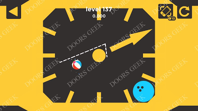Ball & Ball Level 137 Solution, Walkthrough, Cheats for android and ios