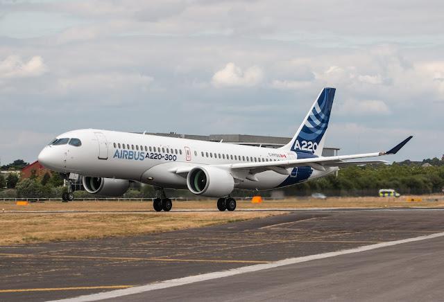 Airbus A220 300 - C-FFDD