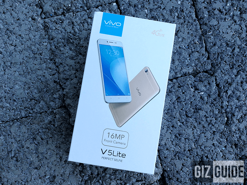 Vivo V5 Lite box