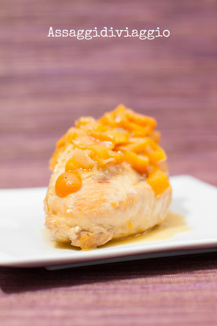 Pollo glassato con i kumquat