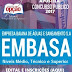 Apostila Concurso da EMBASA - Agente Administrativo 2017
