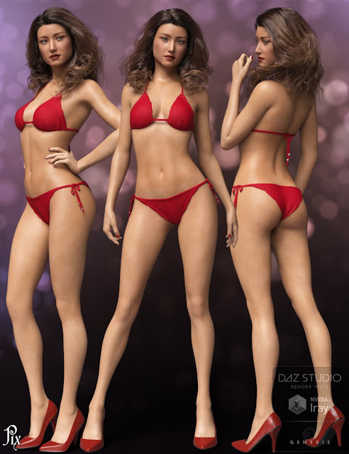 Pix Elaine for Genesis 3 Female