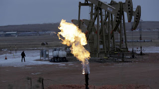 Flaring (Credit: AP Photo/Eric Gay, File) Click to Enlarge.