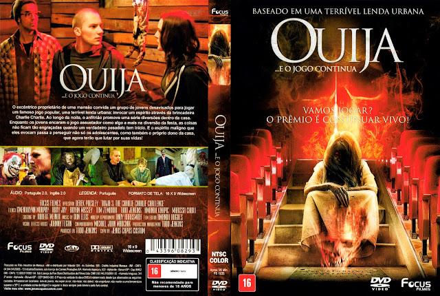 Capa DVD Ouija ...E O Jogo Continua