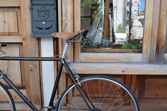 the bike shed in tokyo japan