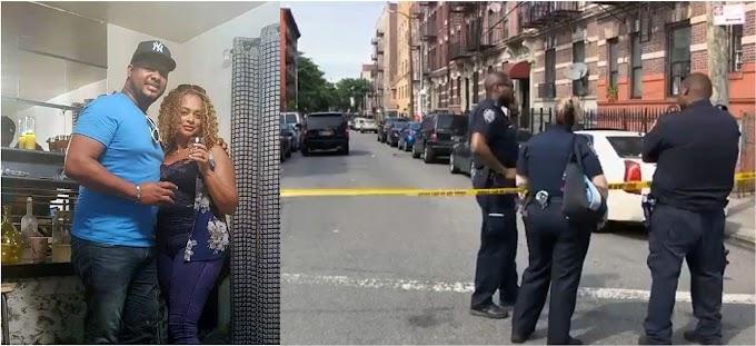 Dominicana muerta y un hombre herido en asesinato - suicidio de ex novio jamaiquino que quemó apartamento en El Bronx