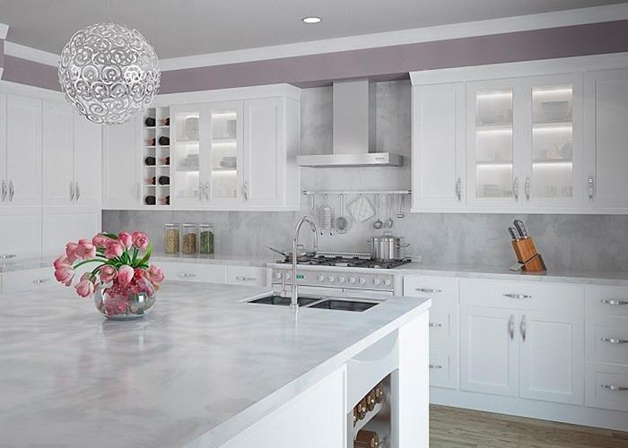 Beyaz Mutfak Dolap Modelleri İle Mutfak Dekorasyonu