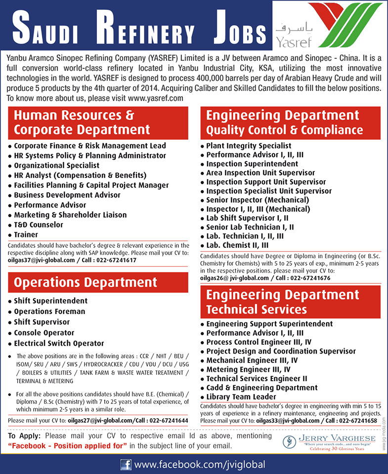 26 rows · Jobs in Saudi Arabia: Find latest jobs and vacancies in Saudi Arabia with top employers .