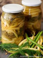 fasola w solance, kiszonki, kiszone warzywa, szparaga kiszona, szparagowka, przetwory, sieje ferment