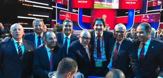 شاهد أبرز صور نتيجة قرعة بطولة كأس العالم 2018 في روسيا