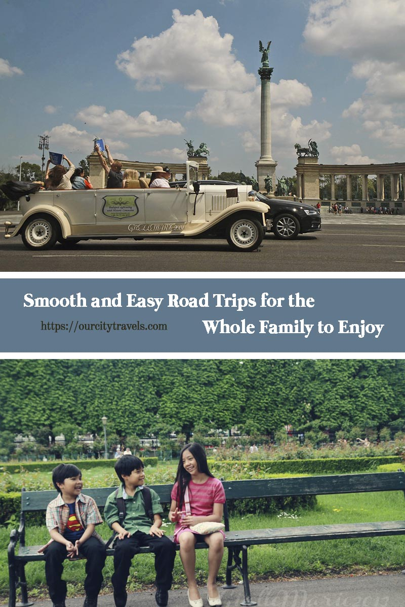 Smooth and easy road trips like train rides, with the whole family can be used as bonding opportunities for the kids and their parents. However, they can also bring some stress even at times when the kids are in their best behavior. Here are some ways to have smooth and easy road trips for the whole family to enjoy.