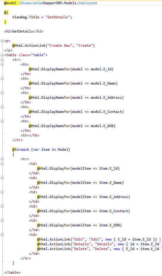 ASP NET | C# | MVC 5 | Web Service | Angular JS | Win Forms | Ajax