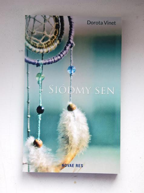 """Recenzje #76 - """"Siódmy sen"""" - okładka książki pt.""""Siódmy sen"""" - Francuski przy kawie"""
